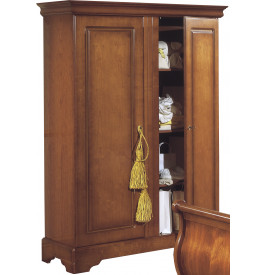9303 - Armoire merisier 2 portes