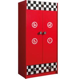 enfant pompe essence rouge 2 portes 1 tiroir