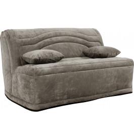banquette bz lanbz140as microfibre gris souris. Black Bedroom Furniture Sets. Home Design Ideas