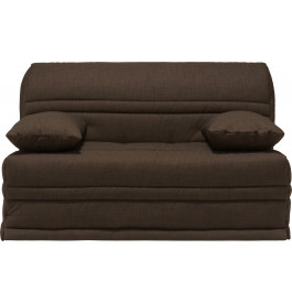 banquette bz tissu chin chocolat matelas 140x200 sofaconfort mousse. Black Bedroom Furniture Sets. Home Design Ideas