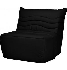 Banquette BZ tissu noir matelas 90x190 Sofaconfort mousse