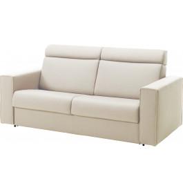 Canapé rapido 2,5 places convertible ALTO tissu blanc