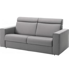 Canapé rapido 2,5 places convertible ALTO tissu gris