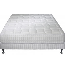Ensemble literie 140x190 Matelas SIMMONS Excellence latex-ressorts + Sommier