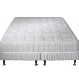 Ensemble literie 160x200 matelas simmons excellence latex ressorts sensoft - Sommier simmons 160x200 ...