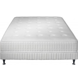 Ensemble literie 160x200 matelas simmons excellence mousse - Ensemble matelas sommier 160x200 simmons ...