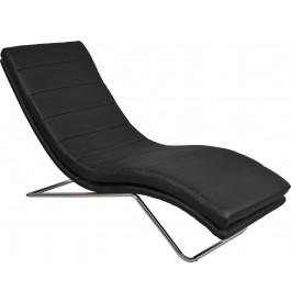 Fauteuil relaxation détente design PU noir