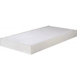 lit gigogne enfant pin massif blanc sophie. Black Bedroom Furniture Sets. Home Design Ideas