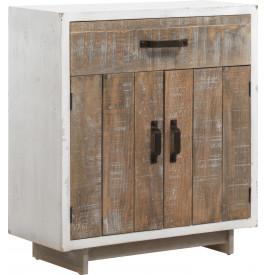 Meuble de rangement 1 tiroir et 2 portes - CINTO