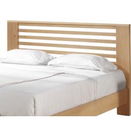 Tête de lit chêne naturel décors ajourés pour lit 180