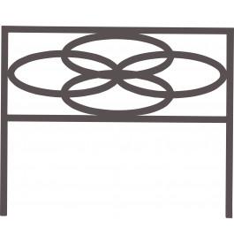 Tête de lit plaque fer forgé noir 90cm – MELO