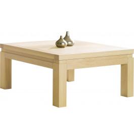 Table basse carrée chêne blanchi