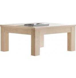 Table basse carrée chêne massif naturel