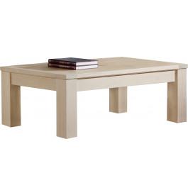 Table basse rectangulaire chêne massif naturel