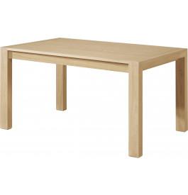 Table chêne naturel rectangulaire 2 allonges L180