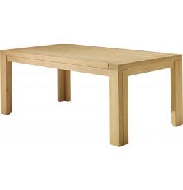Table de séjour rectangulaire chêne clair L200