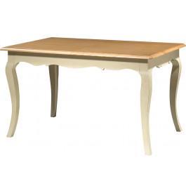 Table de s jour rectangulaire h tre laque blanc l140 2 for Table de sejour rectangulaire avec allonge