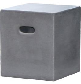 tabouret de jardin fibre de ciment aspect b ton. Black Bedroom Furniture Sets. Home Design Ideas