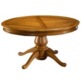 Table ovale L160 chêne quadripode