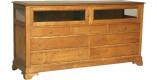 Bahut 2 portes 7 tiroirs