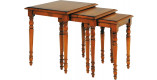 Tables gigognes merisier antiquaire