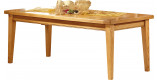Table rectangulaire chêne L200 pieds fuseau