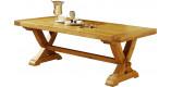 Table rectangulaire en chêne L220