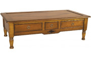 11364 - Table Basse 3 tiroirs