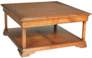 11381 - Table Basse carrée double plateau