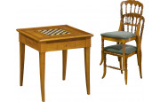 11472 - Table de jeu chêne