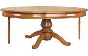 11479 - Table ovale 160 cm avec pied quadripode