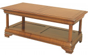 11546 - Table basse double plateau