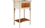 13033 - Table de téléphone 2 tiroirs