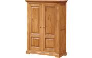3553 - Armoire chêne 2 portes