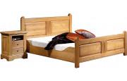 3644 - Chevet chêne 2 tiroirs 1 niche