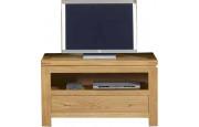 3951 - Meuble TV - Hifi chêne 1 tiroir 1 niche