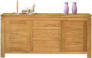 3961 - Buffet chêne 2 portes 3 tiroirs