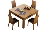 3976 - Table carrée chêne L140