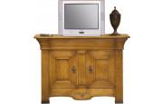 4040 - Meuble TV - Hifi chêne 2 portes 1 tiroir