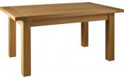 4884 - Table rectangulaire chêne pieds carrés L180