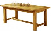 5097 - Table de Ferme rectangulaire chêne L200