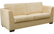 8124 - Canapé 2 places microfibre beige Cambridge
