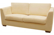 8130 - Canapé 3 places microfibre beige Cambridge