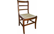 Chaise louis philippe teinte merisier assise paille