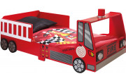Lit enfant camion de pompier 70x140
