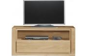 Meuble TV chêne naturel 1 niche 1 tiroir