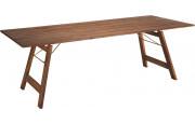 Table rectangulaire L220 pliante acacia naturel
