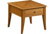 Table basse chêne carrée L60