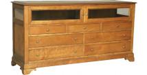 11356 - Bahut 2 portes 7 tiroirs