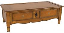 11367 - Table Basse 2 tiroirs